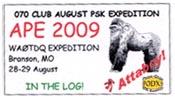 2009 APE WA0TDQ.
