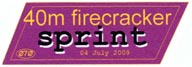 2009 40M Firecracker Sprint.