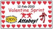 2010 Valentine Sprint