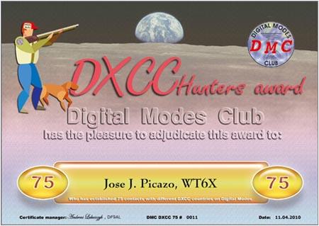 DXCC-075 WT6X