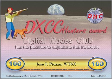 DXCC-100 WT6X