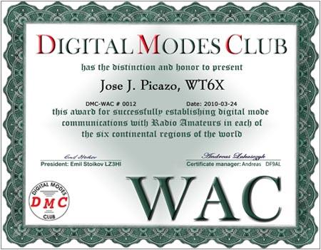 WAC 0012 WT6X