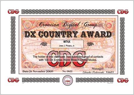 WT6X DXCA 100