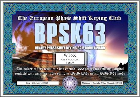 WT6X BQPA BPSK63