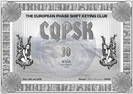 WT6X CQPSK 10