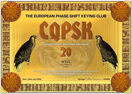 WT6X CQPSK 20