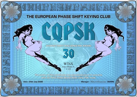 WT6X CQPSK 30