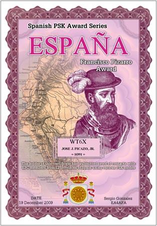 WT6X ESPANA PIZARRO