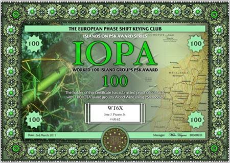 WT6X IOPA 100