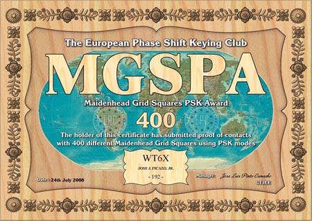 WT6X MGSPA 400