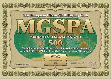WT6X MGSPA 500