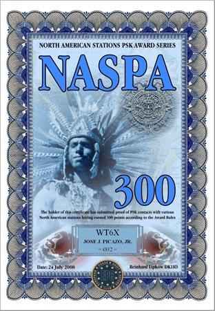 WT6X NASPA 300