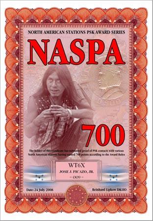 WT6X NASPA 700