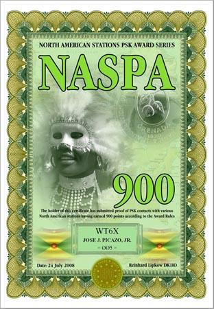 WT6X NASPA 600