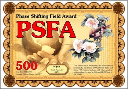 WT6X PSFA 500