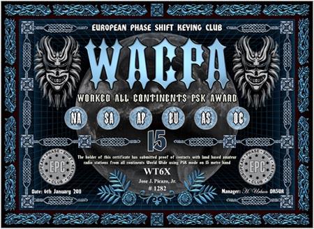 WT6X WACPA 15M