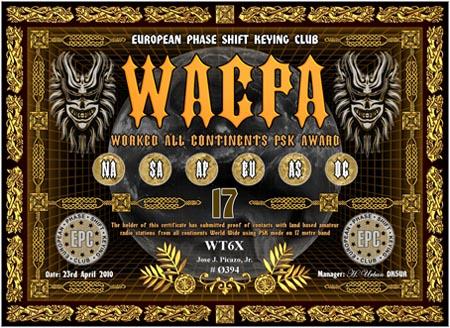 WT6X WACPA 17M