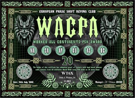 WT6X WACPA 20M