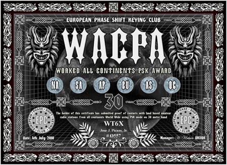 WT6X WACPA 30M