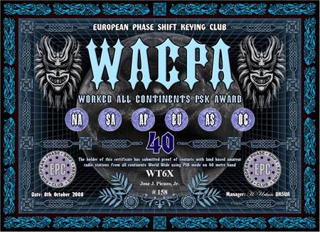 WT6X WACPA 40M