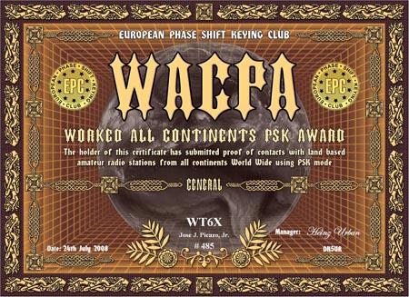 WT6X WACPA GENERAL