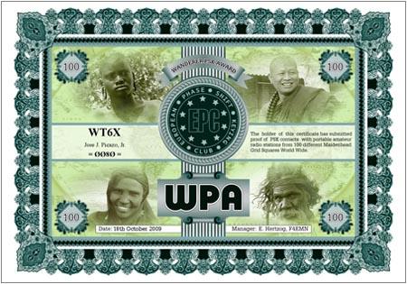 WT6X WPA 100